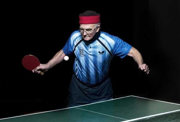 "Players who are older than 80 compete in table tennis in ""POV: Ping Pong"" on PBS. With Les D'arcy."