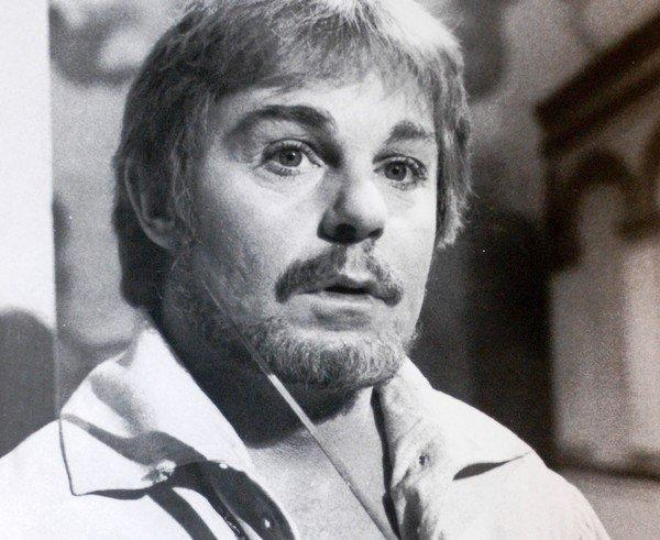"Derek Jacobi in the title role of ""Hamlet."""