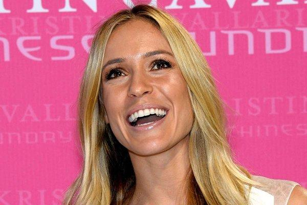 Kristin Cavallari wasn't smiling Friday when she was cited for driving in Illinois without a license from that state.