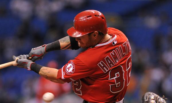 Angels outfielder Josh Hamilton is hoping to put his struggles behind him during the final month of the season.