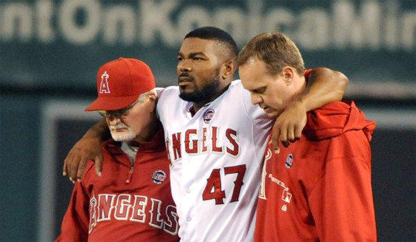 Angels second baseman Howie Kendrick, who hasn't played since Aug. 6 because of a left knee sprain, said he's close to returning after running the bases Friday.