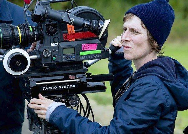 """I think it's a character film about these political people, more than I think of it as being a political film,"" says director Kelly Reichardt on the set of ""Night Moves."""