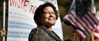 Former Assemblywoman Lori Saldana, a Democrat, indicated Friday that she may run for San Diego mayor.