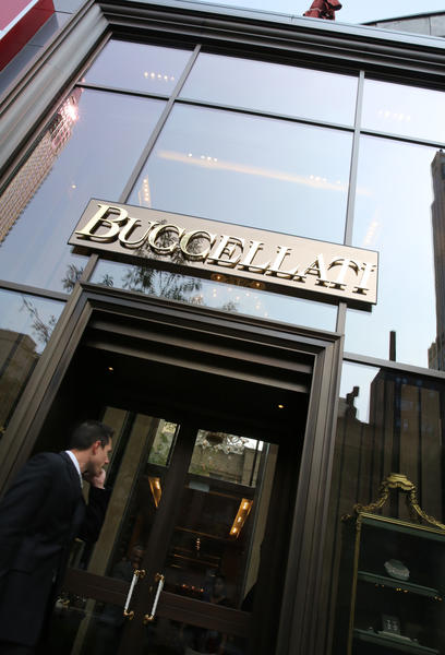 Buccellati, a new luxury jewelry shop at 62 E. Oak St. in Chicago.