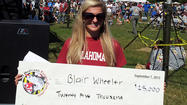 Blair Wheeler, 25-year-old Va. woman, wins 'Diamond Jim' fishing challenge