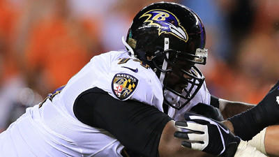 Michael Oher's sprained ankle not serious, source says