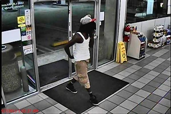 Orlando police say this man robbed a convenience store on LB McLeod Road early Saturday.