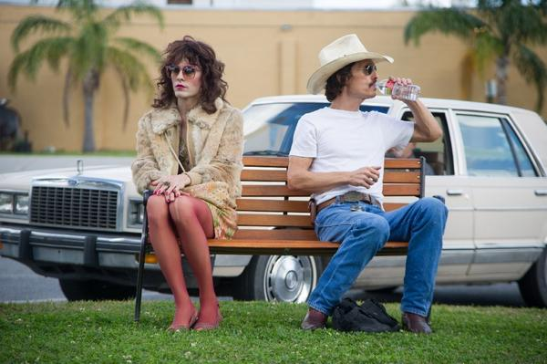 "Jared Leto and Matthew McConaughey as unlikely allies in the AIDS fight in ""Dallas Buyers Club."""