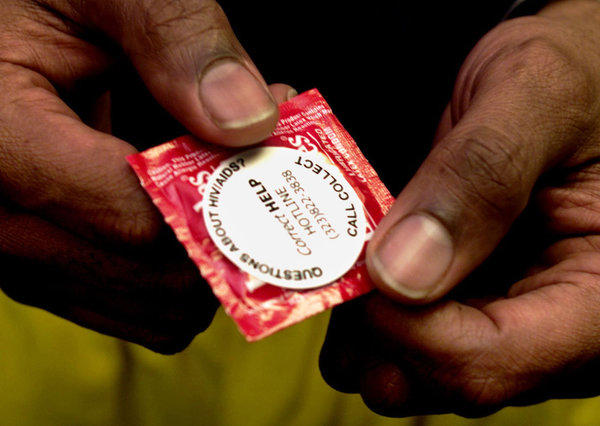 Condom and HIV/AIDS hotline