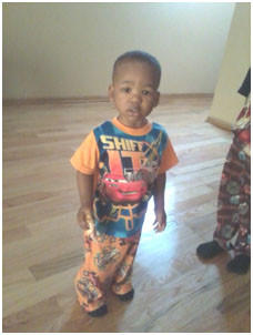 Bryeon Hunter, 1. Police issued an Amber alert Tuesday, saying he was abducted by three men in west suburban Maywood.