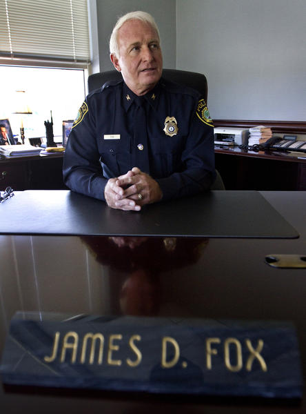 Newport News Police Chief James Fox talks about his 9 years with the police in Newport News during his exit interview and his pending retirement.