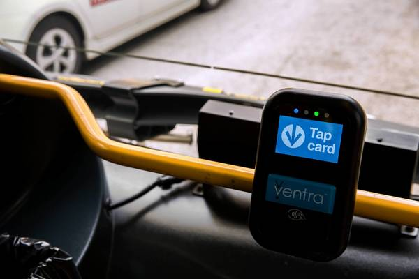 More than 100,000 Ventra cards are already in use and have been tapped 1.3 million times against fare-collection readers on buses and at rail station turnstiles, the CTA says.