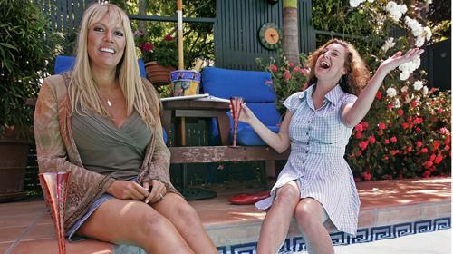 Karen Lutz, left, and Kirsten Smith
