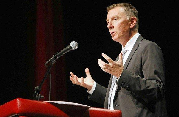 L.A. Unified Supt. John Deasy changed his mind when he learned that the state would pay for only half of California students to take the English tests and for the other half to take the math tests.