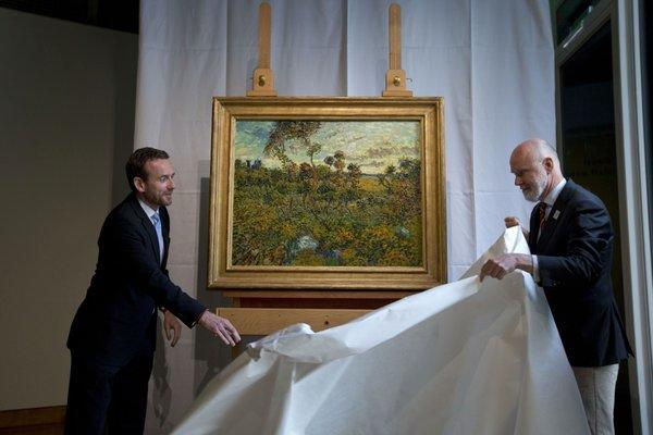 New Van Gogh painting identified, museum says