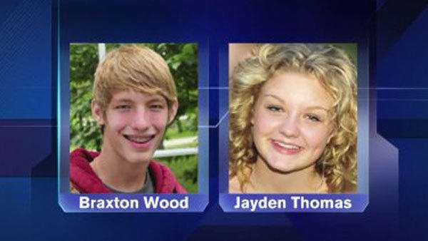 Chicago authorities have located two Michigan teenagers who ran away from home in late August.