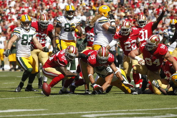 Packers at 49ers
