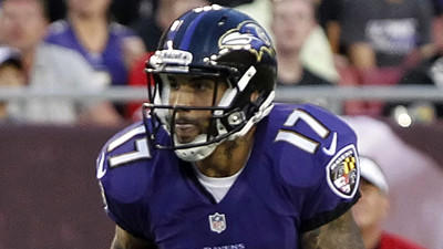 Wide receiver Tandon Doss rejoining Ravens
