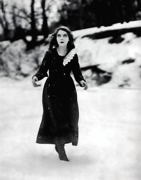 "Lillian Gish in ""Way Down East"""