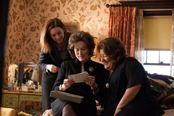 "(L to R) Julianne Nicholson, Meryl Streep and Margo Martindale star in ""August: Osage County."""