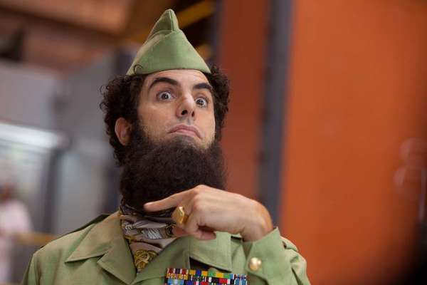 "Sacha Baron Cohen, in his 2012 comedy ""The Dictator,"" is this year's recipient of the BAFTA Los Angeles Charlie Chaplin Britannia Award."