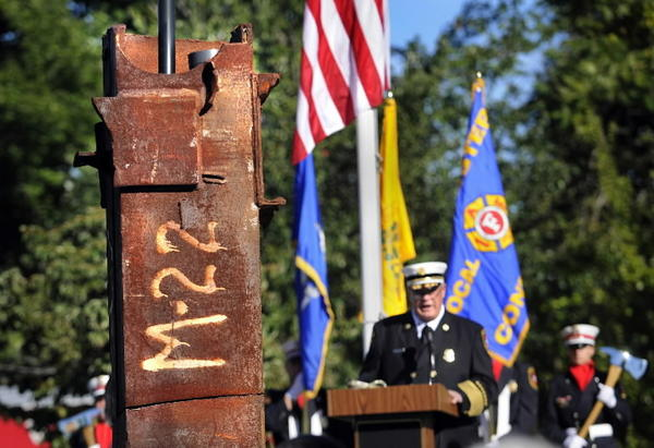 Last year's 9/11 remembrance at the Tolland Turnpike memorial garden was more formal than what is planned for Wednesday.