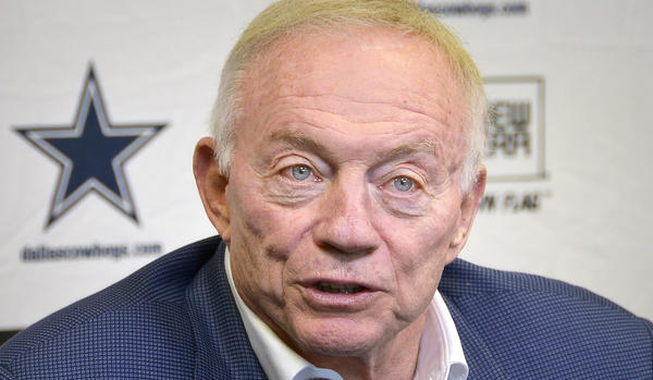 Dallas Cowboys owner Jerry Jones has accused the New York Giants of faking injuries.