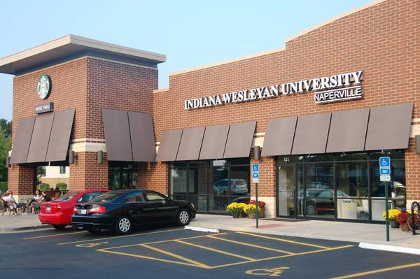 Indiana Wesleyan University recently hosted a dedication ceremony for its new service center in Naperville.
