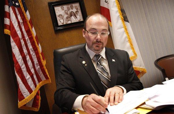 Assemblyman Tim Donnelly (R-Twin Peaks), one of Sacramento's most conservative lawmakers, voted for a bill that would give prosecutors flexibility to treat any low-level drug possession offense as either a misdemeanor or a felony.