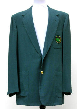 The original green jacket awarded to 1934 and 1936 Masters champion Horton Smith was sold for $682,229.45.