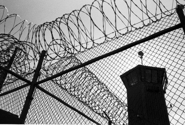 Tall fences and razor wire encircle Pelican Bay State Prison in Crescent City, Calif., where some of the worst criminal offenders in the state are incarcerated.