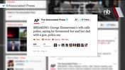Video: George Zimmerman involved in alleged domestic dispute