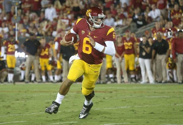 Cody Kessler was named USC's starting quarterback on Monday.