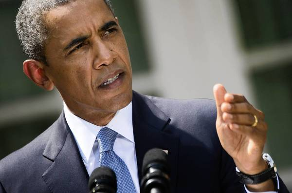 President Obama, during an Aug. 31 briefing at the White House Rose Garden, outlines why he is seeking congressional authoritrization for military action against Syria for its apparent use of chemical weapons.