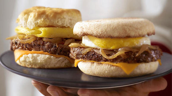 McDonald's is rolling out a steak option on its breakfast sandwiches at more than 70 percent of its restaurants nationwide.
