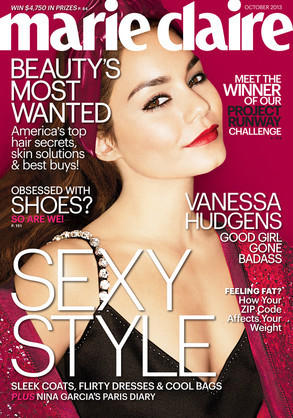Vanessa Hudgens / Marie Claire interview