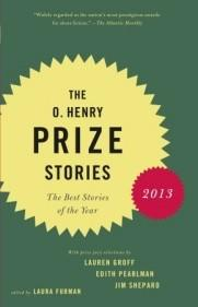 "The cover of ""The O. Henry Prize Stories 2013."""