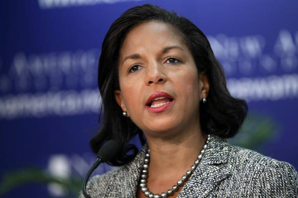 In a speech Monday, national security advisor Susan Rice laid out the case against the Assad government.