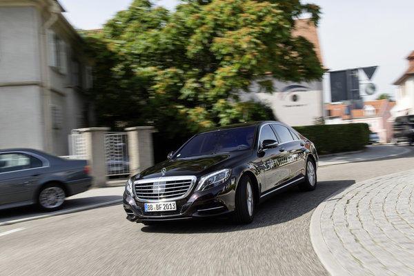 Mercedes-Benz autonomous S-Class