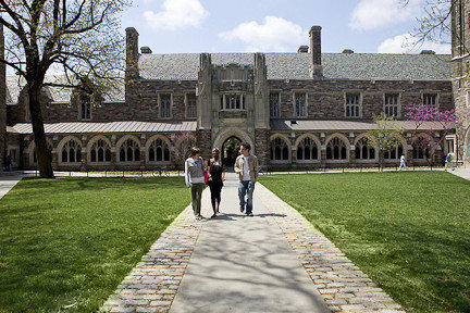 Princeton University was ranked the best national university by U.S. News & World Report