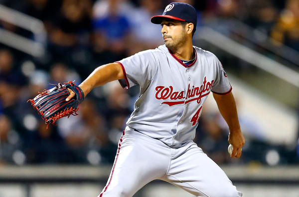 Nationals pitcher Gio Gonzalez recorded his second career shutout and fourth complete game on Monday night in a 9-0 victory over the New York Mets.