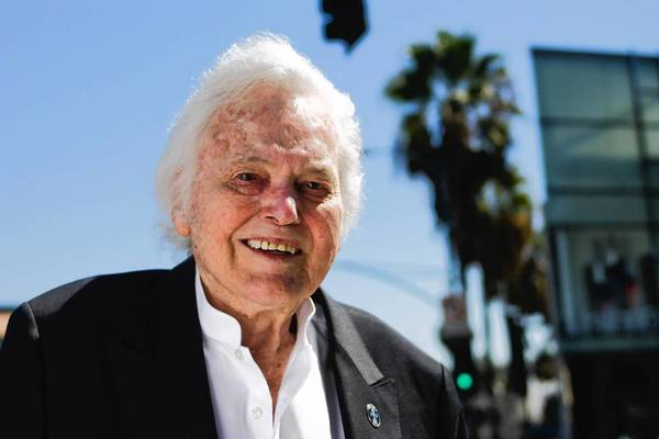 Commercial landlord and celebrity manager Fred Barman found the name Burton Way in an old legal description of Little Santa Monica.