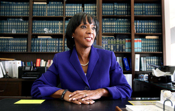 L.A. County Dist. Atty. Jackie Lacey has issued a statement defending how her office is handling the cases of prisoners seeking release under Proposition 36, which changed California's mandatory three-strikes sentencing.