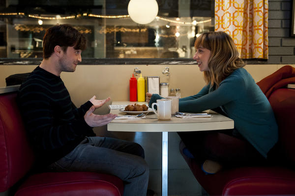 "Daniel Radcliffe and Zoe Kazan in ""The F Word"""