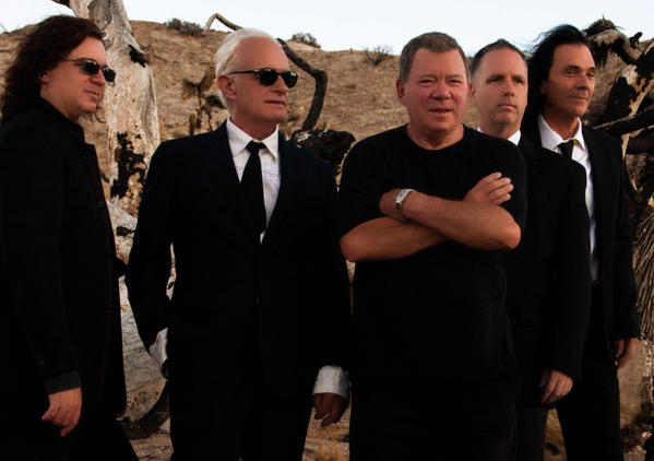 "William Shatner is to be joined by the prog-rock band Circa for three L.A. live performances of his new album, ""Ponder the Mystery."""
