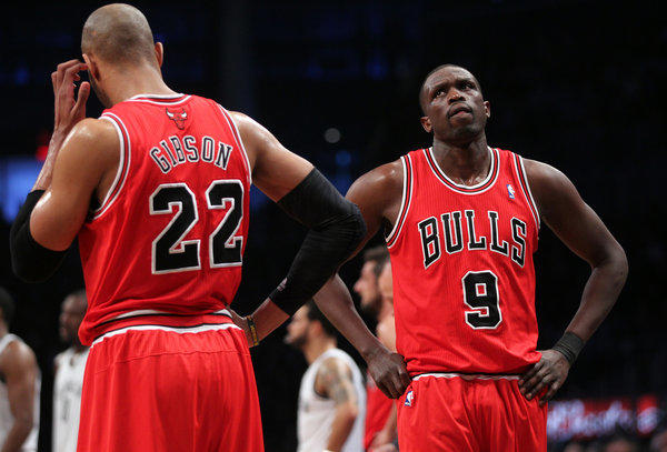 Luol Deng (right) plans to test the free-agent market after next season.