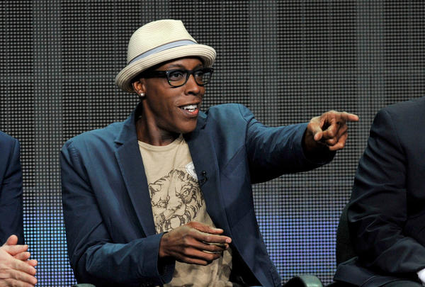 Arsenio Hall, seen here in July, drew respectable ratings in his return to late-night TV.