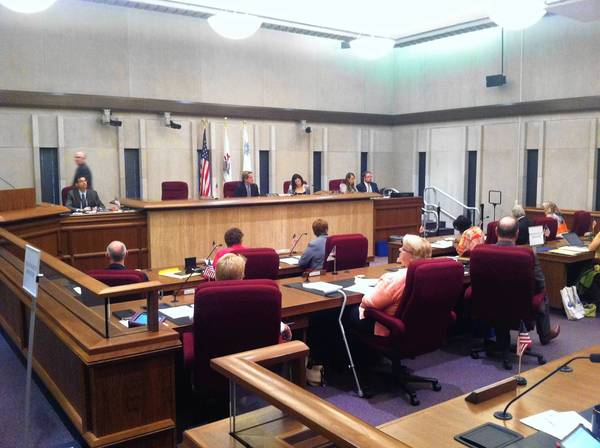 The Lake County Board approved new standards of conduct for appointed commissioners on Tuesday morning.