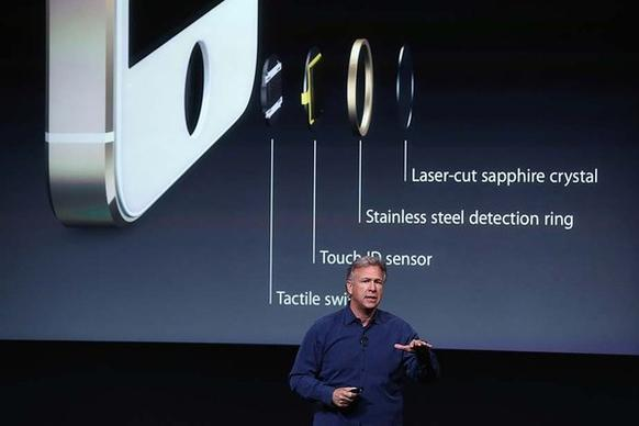 Phil Schiller, Apple senior vice president of worldwide marketing, speaks about the security features of the new iPhone 5S. The 5S features a fingerprint sensor, has an upgraded camera and contains an A7 chip.