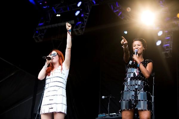 Icona Pop's most recent Chicago appearance was at their Lollapalooza performance last month.